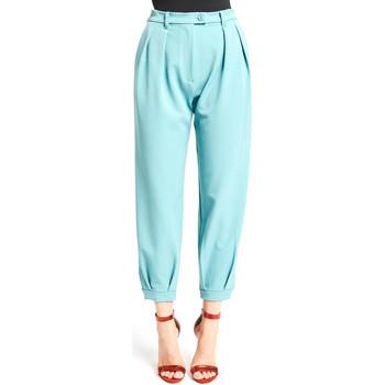 Oblečenie Ženy Nohavice Chinos a Carrot Denny Rose 921DD20008 Modrá