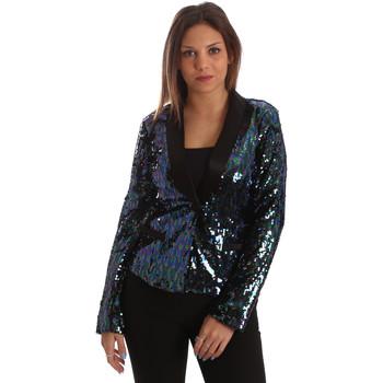 Oblečenie Ženy Saká a blejzre Fracomina FR19FP622 čierna