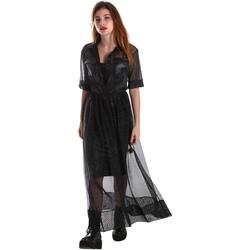 Oblečenie Ženy Dlhé šaty Fracomina FR19FM567 čierna