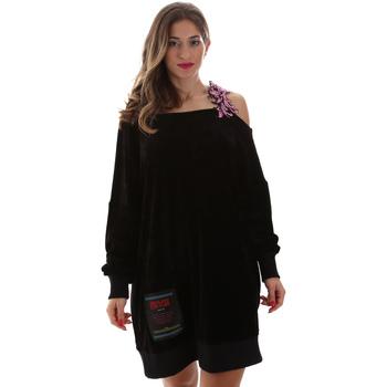 Oblečenie Ženy Krátke šaty Versace B6HUB77011684899 čierna