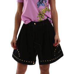 Oblečenie Ženy Sukňa Versace A9HUB301APD3W899 čierna
