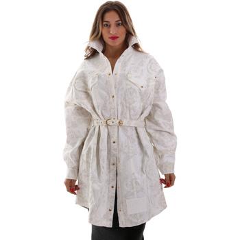 Oblečenie Ženy Saká a blejzre Versace D2HUB445HRC43003 Biely