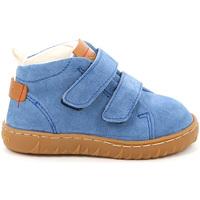 Topánky Deti Polokozačky Grunland PP0272 Modrá