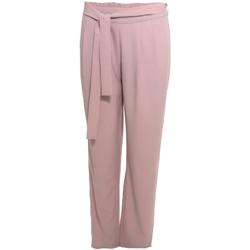 Oblečenie Ženy Padavé nohavice Smash S1829415 Ružová