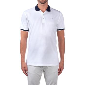 Oblečenie Muži Polokošele s krátkym rukávom Navigare NV72058 Biely