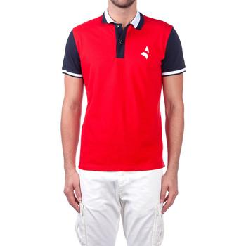 Oblečenie Muži Polokošele s krátkym rukávom Navigare NV82115 Červená