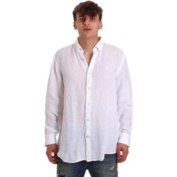 Oblečenie Muži Košele s dlhým rukávom Navigare NV91108 Biely