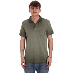 Oblečenie Muži Polokošele s krátkym rukávom Gaudi 011BU64017 Zelená