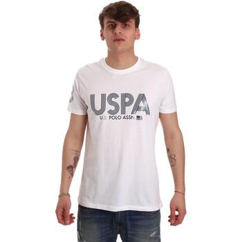 Oblečenie Muži Tričká s krátkym rukávom U.S Polo Assn. 57197 49351 Biely
