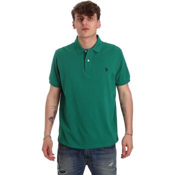 Oblečenie Muži Polokošele s krátkym rukávom U.S Polo Assn. 55957 41029 Zelená