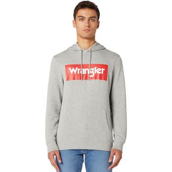 Oblečenie Muži Mikiny Wrangler W6B9HAX37 Šedá