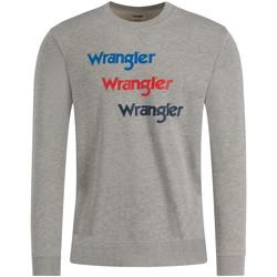 Oblečenie Muži Mikiny Wrangler W6A5HAX37 Šedá