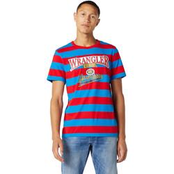 Oblečenie Muži Tričká s krátkym rukávom Wrangler W7E1FKXKL Modrá