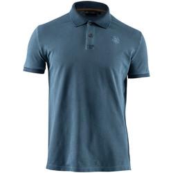 Oblečenie Muži Polokošele s krátkym rukávom Lumberjack CM45940 007 516 Modrá