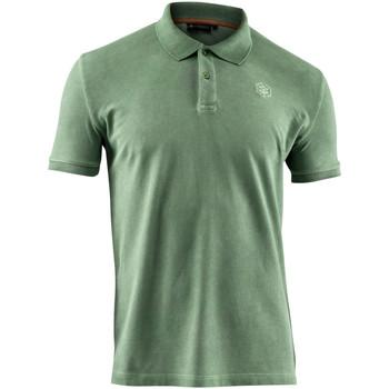 Oblečenie Muži Polokošele s krátkym rukávom Lumberjack CM45940 007 516 Zelená