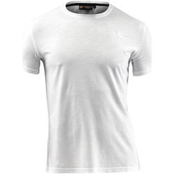Oblečenie Muži Tričká s krátkym rukávom Lumberjack CM60343 004 517 Biely