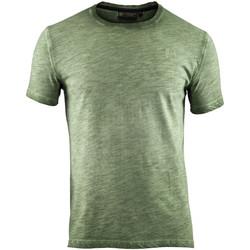 Oblečenie Muži Tričká s krátkym rukávom Lumberjack CM60343 004 517 Zelená