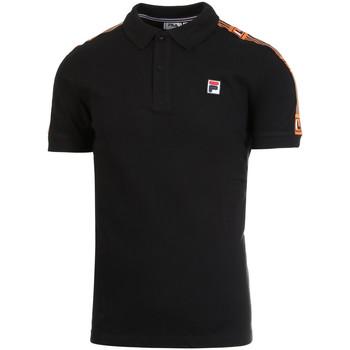 Oblečenie Muži Polokošele s krátkym rukávom Fila 687645 čierna