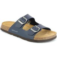 Topánky Muži Šľapky Grunland CB3013 Modrá