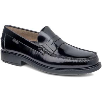 Topánky Muži Mokasíny CallagHan 90000 čierna