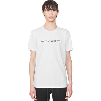 Oblečenie Muži Tričká s krátkym rukávom Antony Morato MMKS01754 FA100144 Biely