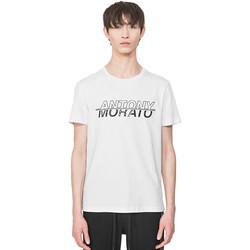 Oblečenie Muži Tričká s krátkym rukávom Antony Morato MMKS01816 FA100144 Biely