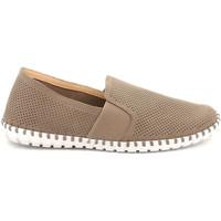 Topánky Muži Slip-on Grunland SC4918 Béžová