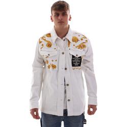 Oblečenie Muži Saká a blejzre Versace C1GVB92GHRC33003 Biely