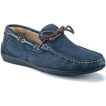 Topánky Muži Mokasíny Lumberjack SM40602 002 A01 Modrá