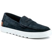 Topánky Muži Mokasíny Lumberjack SM69814 001 A01 Modrá