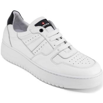 Topánky Muži Nízke tenisky Exton 427 Biely