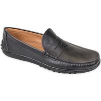Topánky Muži Mokasíny Valleverde 11840 čierna