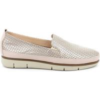 Topánky Ženy Slip-on Grunland SC2790 Biely