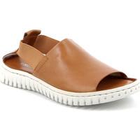 Topánky Ženy Sandále Grunland SA2538 Hnedá