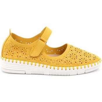 Topánky Ženy Balerínky a babies Grunland SC4911 žltá