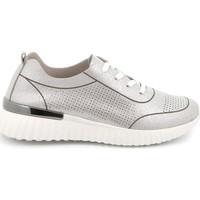 Topánky Ženy Nízke tenisky Grunland SC4905 Striebro