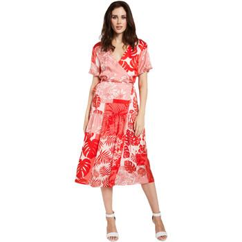 Oblečenie Ženy Krátke šaty Gaudi 011FD15014 Červená