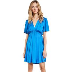 Oblečenie Ženy Krátke šaty Gaudi 011FD15061 Modrá