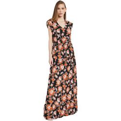 Oblečenie Ženy Dlhé šaty Gaudi 011BD15020 čierna