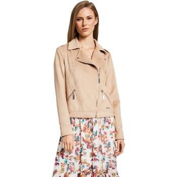 Oblečenie Ženy Saká a blejzre Gaudi 011BD38008 Béžová