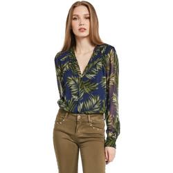 Oblečenie Ženy Košele a blúzky Gaudi 011BD45018 Modrá