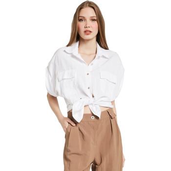 Oblečenie Ženy Košele a blúzky Gaudi 011BD45030 Biely