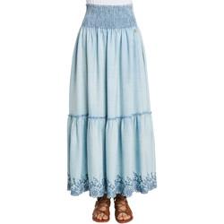 Oblečenie Ženy Sukňa Gaudi 011BD76002 Modrá