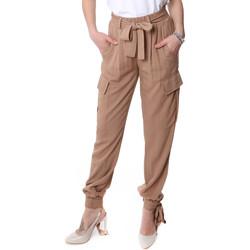Oblečenie Ženy Nohavice Cargo Fracomina FR20SP127 Béžová