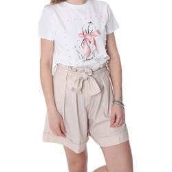 Oblečenie Ženy Šortky a bermudy Fracomina FR20SP150 Béžová