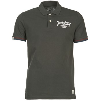 Oblečenie Muži Polokošele s krátkym rukávom Jack & Jones COMPANY Čierna