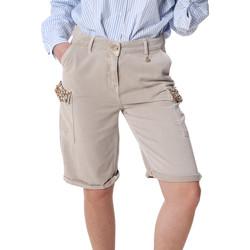Oblečenie Ženy Šortky a bermudy Fracomina FR20SP116 Béžová