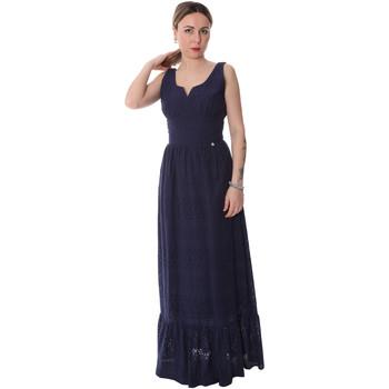 Oblečenie Ženy Dlhé šaty Fracomina FR20SP588 Modrá