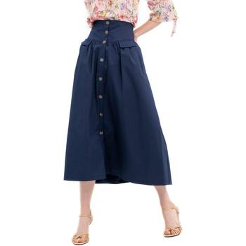 Oblečenie Ženy Sukňa Fracomina FR20SP133 Modrá