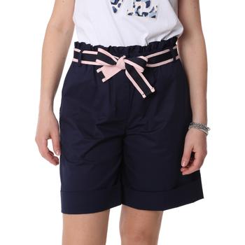 Oblečenie Ženy Šortky a bermudy Fracomina FR20SP606 Modrá